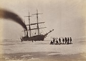 view Arctic Regions: Hunting by Steam in Melville Bay, The Party after a Day's Sport Killing Six Polar Bears within the Twenty-Four Hours digital asset number 1