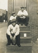view Boys on Steps, Kensington, Philadelphia digital asset number 1