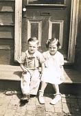 view Children on a Stoop, Kensington, Philadelphia digital asset number 1