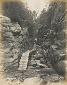 view Walkway through a Gorge, White Mountains digital asset number 1