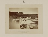view Shoshone Falls, Snake River, Idaho, View across the Top of the Falls digital asset number 1