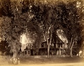 view Residence of Mr. Hoyt, from the album Views of Charlestown, New Hampshire digital asset number 1