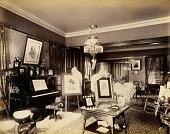 view Interior of Hoyt Mansion, from the album Views of Charlestown, New Hampshire digital asset number 1
