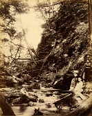 view Devil's Gully, from the album Views of Charlestown, New Hampshire digital asset number 1