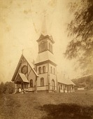 view Catholic Church, from the album Views of Charlestown, New Hampshire digital asset number 1