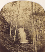 view Upper Falls of Pond Run, Pike County, Pennsylvania digital asset number 1