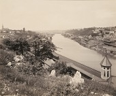 view Lehigh Valley from Piccadilly Hill, for the Lehigh Valley Railroad digital asset number 1