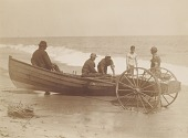 view Fishermen Unloading a Boat, Sea Bright, New Jersey digital asset number 1