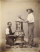 view [Two Workmen Polishing a Stove] digital asset number 1