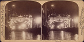 view Peace Jubilee, Philadelphia. Triumphal Arch, Court of Honor, Illuminated digital asset number 1