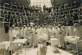 view Medical School Class and Staff (with Cadaver) digital asset number 1