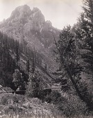 view Rock Canyon, near Bozeman (upright), for the Northern Pacific Railroad digital asset number 1
