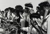 view Tigua Women Dancers, from the portfolio The Tiguas: Pueblo Indians of Texas digital asset number 1