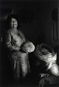 view Herminia Silvas, Breadmaker, from the portfolio The Tiguas: Pueblo Indians of Texas digital asset number 1