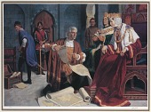 view Christopher Columbus and Queen Isabella digital asset number 1