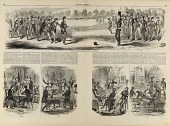 view College Life in New England, from Harper's Weekly, August 1, 1857 digital asset number 1