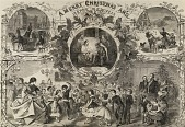 view A Merry Christmas and Happy New Year, from Harper's Weekly, December 24, 1859 digital asset number 1