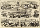 view Our Army before Yorktown, Virginia, from Harper's Weekly, May 3, 1862 digital asset number 1