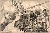 view Homeward Bound, from Harper's Weekly, December 21, 1867 digital asset number 1