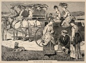 view The Picnic Excursion, from Appletons' Journal of Literature, Science, and Art, August 14, 1869 digital asset number 1