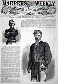 view Colonel Wilson, of Wilson's Brigade, from Harper's Weekly, May 11, 1861 digital asset number 1