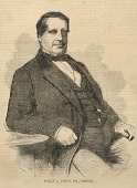 view William E. Burton, Esq., Comedian, from Ballou's Pictorial Drawing-Room Companion, December 4, 1858 digital asset number 1