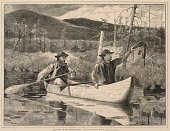 view Trapping in the Adirondacks, from Every Saturday: An Ilustrated Journal of Choice Reading, December 24, 1870 digital asset number 1