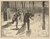 view Deer-Stalking in the Adirondacks in Winter, from Every Saturday, A Journal of Choice Reading, January 21, 1871 digital asset number 1