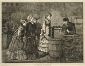 view A Country Store--Getting Weighed, from Every Saturday: A Journal of Choice Reading, March 25, 1871 digital asset number 1