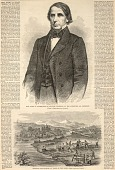 view Hon. Elihu B. Washburne of Illinois, Chairman of the Committee on Commerce, from Harper's Weekly, March 17, 1860 digital asset number 1