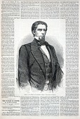 view Hon. J. L. M. Curry of Alabama, from Harper's Weekly, February 18, 1860 digital asset number 1