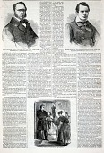 view The Meeting After the Marriage, from Harper's Weekly, February 25, 1860 digital asset number 1