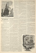 view The Lady in Black, Meadowbrook Parsonage, from Harper's Weekly, March 17, 1860 digital asset number 1