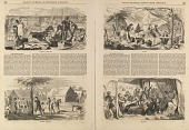view Camp Meeting Sketches, from Ballou's Pictorial Drawing-Room Companion, August 21, 1858 digital asset number 1
