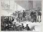 view Expulsion of Negroes and Abolitionists from Tremont Temple, Boston, Massachusetts, on December 3, 1860, from Harper's Weekly, December 15,1860 digital asset number 1