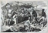 view Thanksgiving in Camp, from Harper's Weekly, November 29, 1862 digital asset number 1