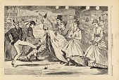 view A Parisian Ball--Dancing at the Mabille, Paris, from Harper's Weekly, November 23, 1867 digital asset number 1