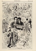 view St. Valentine's Day--The Old Story in All Lands, from Harper's Weekly, February 22, 1868 digital asset number 1