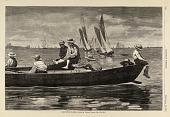 view Gloucester Harbor, from Harper's Weekly, September 27, 1873 digital asset number 1