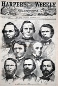view The Seceding South Carolina Delegation, from Harper's Weekly, December 22, 1860 digital asset number 1