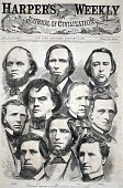 view The Georgia Delegation in Congress - Photographed by Brady, from Harper's Weekly, January 5, 1861 digital asset number 1