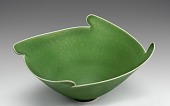 view Porcelain Bowl with Green Glaze digital asset number 1