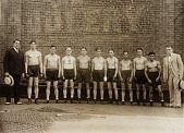 view Unidentified group of boxers with managers digital asset number 1