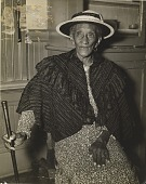 view Old Woman with Cane digital asset number 1