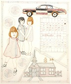 view Three Children, A Car and A Church digital asset number 1