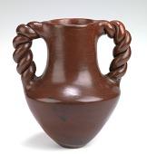 view Wedding Vase with Braided Handles digital asset number 1