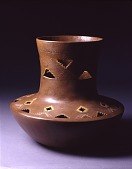 view Pot with Incised and Cut-out Decoration digital asset number 1