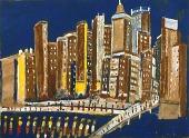 view Big City Skyline digital asset number 1