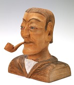 view Man with Pipe digital asset number 1