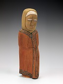 view Navajo Woman Wearing Pendleton Blanket digital asset number 1